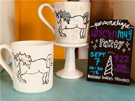 Unicorn Mug Party