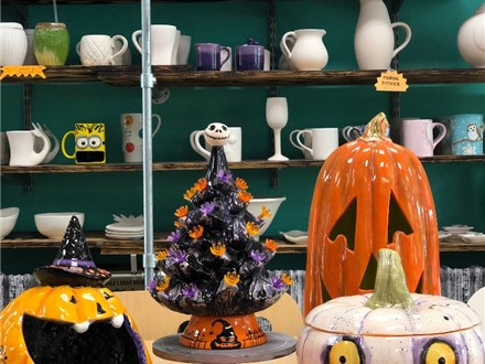 Ceramic Halloween Tree -Your New Favorite Home Decoration!