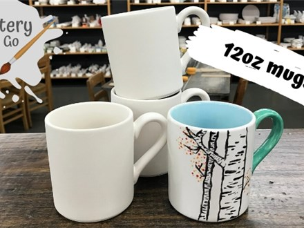 Pottery To Go 12oz mug - Perfect size for the whole Family!