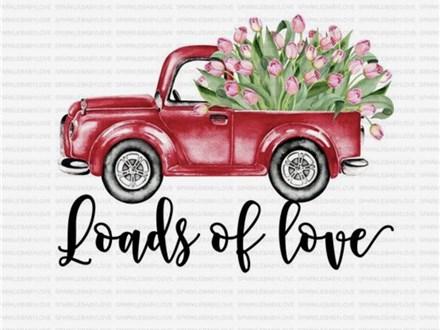 Loads of Love Platter Sip N' Paint Jan. 8