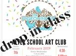 February Drop IN Art Club