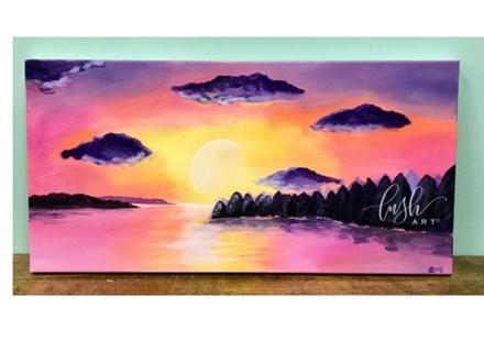 Sunset Paint Class