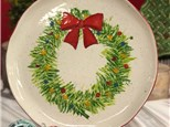 Christmas Pottery Painting!