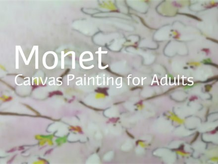 Monet Canvas Painting Party Package for Adults