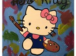 Kid's Canvas - Hello Kitty - Morning Session - 01.23.19