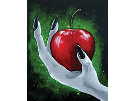 """""""Poison Apple"""" PAINT 'N SIP- Oct 24th - 2 FOR $44"""