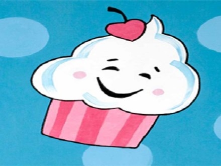 Hey, Cupcake! Family Canvas