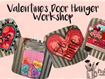 Valentine's Door Hanger Workshop 02/02/2020