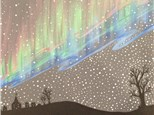"Canvas Night, ""Northern Lights,"" November 21st 7-10pm"