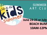 Beach Bums Art Camp  7/28-7/30