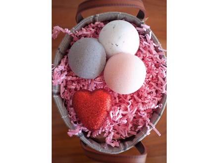 Valentines Day Bath Bomb Making Class- By Trade Secrets