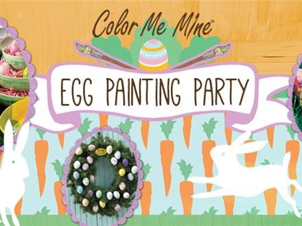 Apr 3rd • Egg Painting Party • Color Me Mine Aurora