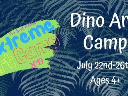 Dino Art Camp