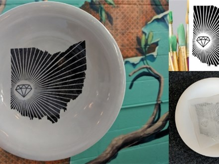 Dayton Pottery Plate Painting Party