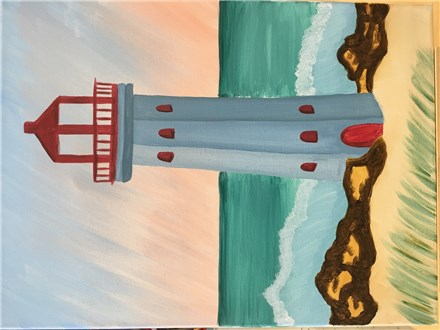 Lighthouse Canvas - June 21st