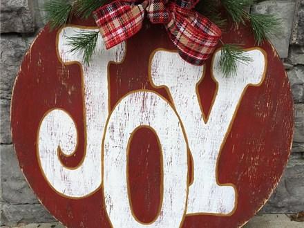 Nov. 11th JOY Door Hanger Class