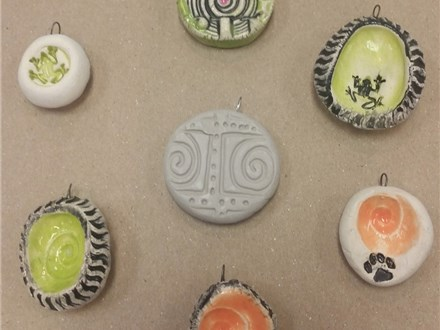 Clay Pendants (10/23/16)