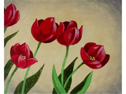 "Paint & Sip ""Tulips"""