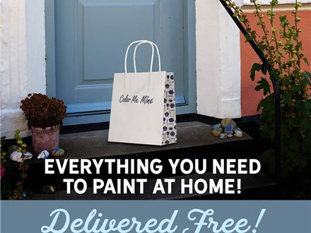 Pottery Painting At Home - Take and Make Kit