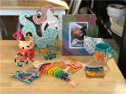 Examples of some of the items we will be making.
