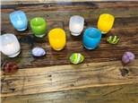 adult egg hunt - glassybaby berkeley