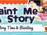 Paint Me a Story - Sneezy the Snowman - December 10