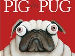 Pig The Pug Book Reading and Painting