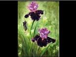 08/03 GA-OIL: Purple Iris  10 AM $45