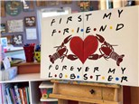 Couple's Canvas - Forever My Lobster - 02.23.19