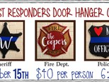 Sept. 15th First Responders Class