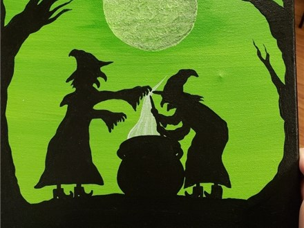 Art Club: Witches Brew