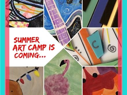 Summer Art Camp 2018 Week 5