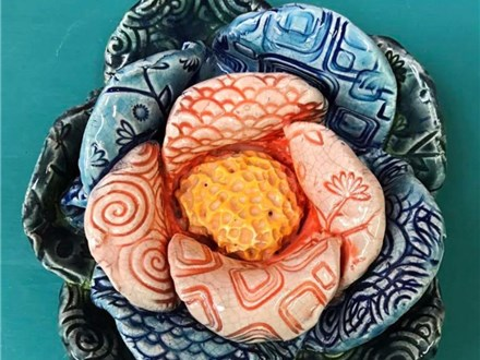 Family Clay - Clay Flower Bowl - 03.18.17 - Morning Session