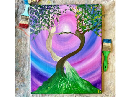 Dancing Trees Paint Class - Perry