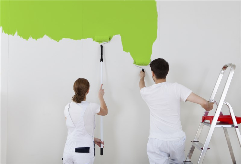 A Work of Art - Mural, Faux Finishing Painting
