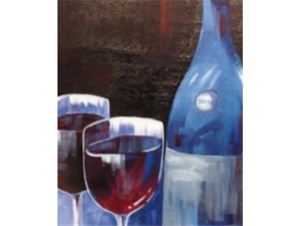 "Canvas Night ""Wine for Two"", Saturday, March 21st  7-10 p.m."