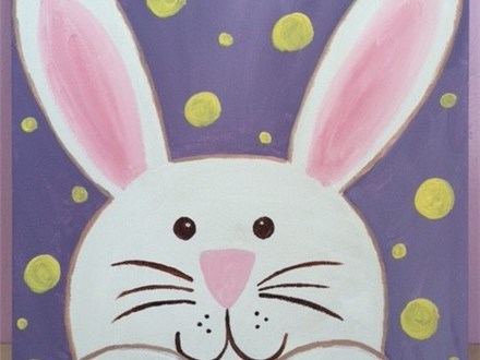 Family Canvas Painting - Bunny Love! 4/8