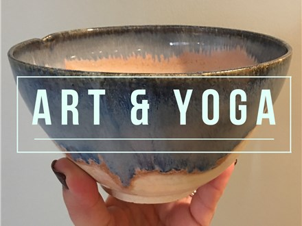 Art & Yoga; A Pottery Wheel & Yoga Workshop with Tammie Crispino & Mindy Cullen