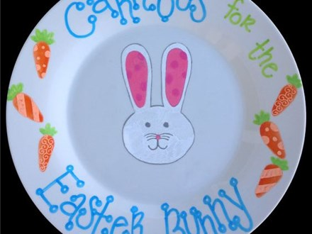 Bunny Plate - March 6th 2pm - Virtually