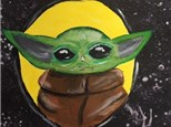 BOREDOM BUSTER: Baby Yoda Painting (make and take) Ages 7 and up