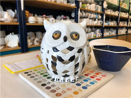 Witches & Wizards - Owl luminary