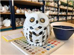 Witches & Wizards - Owl luminary - JUL 6th