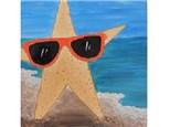 Summer Kids' Canvas Class! Starfish! 6/4/18