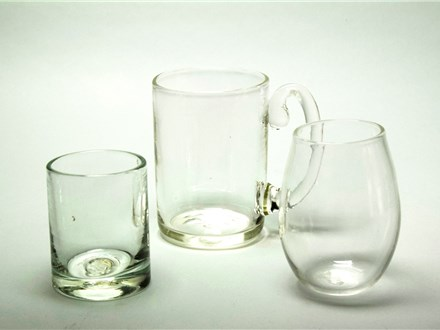 Whiskey Glass, Beer Mug, Stemless Wine Glass