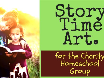 Story Time Art for the Charity Homeschool Group (Private Association)