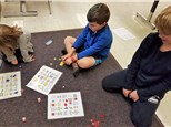 These students in gr 1-3 play Animal Count Bingo© to help them with the operations of addition and subtraction!