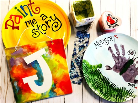 Paint Me A Story at POTTERY BY YOU!