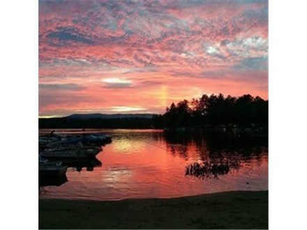 Sunset On The Water at Clearwater Campground