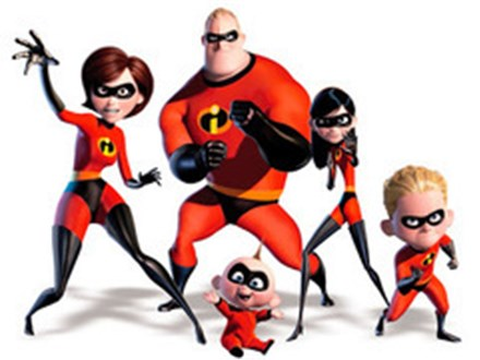 THE INCREDIBLES -  June 15th