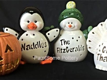 Custom Carveables at PaintSome Pottery!